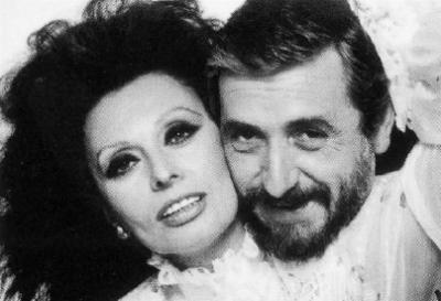 Sophia Loren & Otto Stupakoff