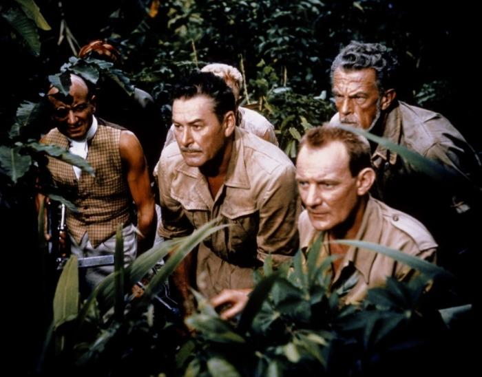 The roots of heaven - Errol Flynn, Trevor Howard