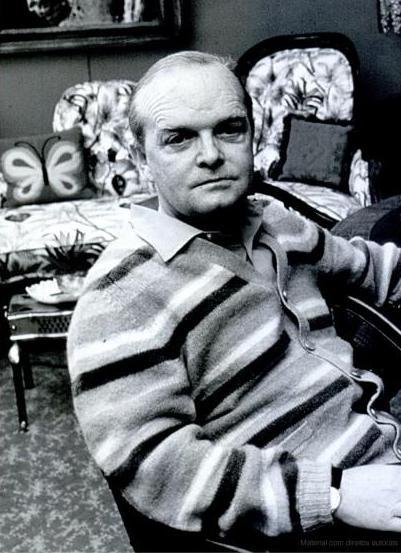 Truman Capote by Otto Stupakoff
