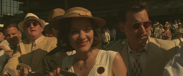 Marion Cotillard & Johnny Depp