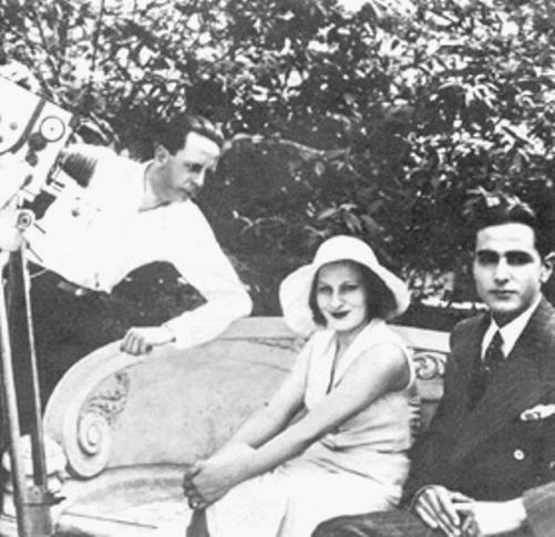 Durante as filmagens de O Mistério do Dominó Preto (Cléo de Verberena, 1930), o primeiro filme a ser dirigido por uma mulher no Brasil
