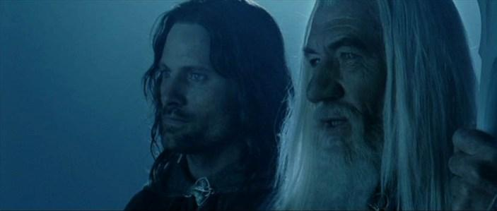 Lord of the Rings - Viggo Mortensen & Ian Mckellen