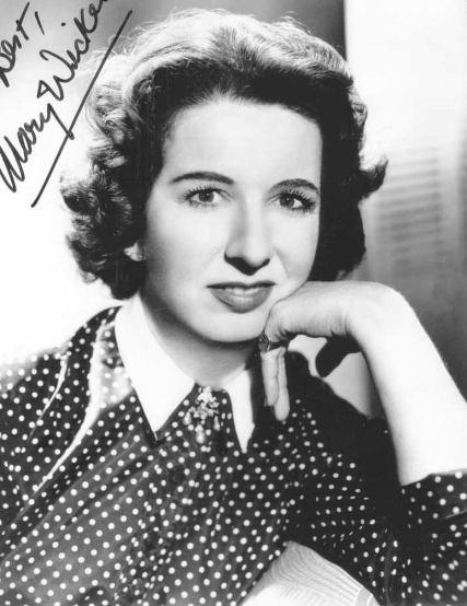 Mary Wickes (The Actress)
