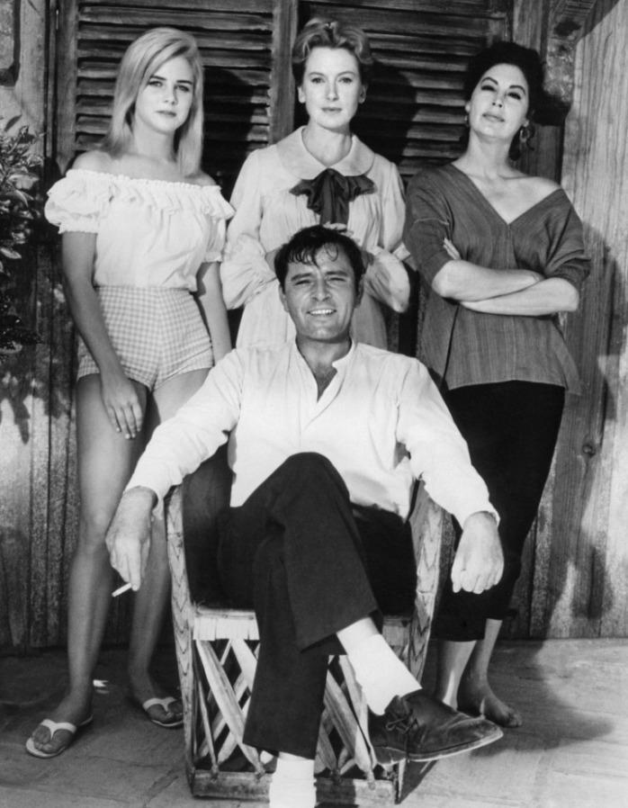 Richard Burton, Ava Gardner, Deborah Kerr, Sue Lyon
