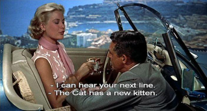 To Catch a Thief - GRACE KELY & CARY GRANT