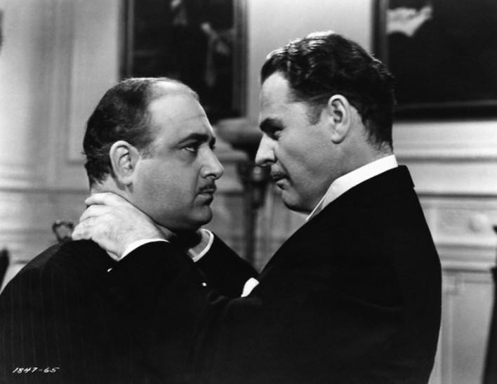 Brian Donlevy & Akim Tamiroff in The Great McGinty