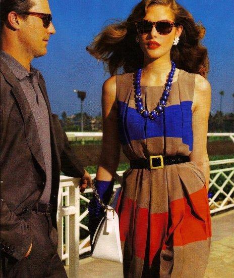 Catherine McNeil & Jon Hamm by Mario Testino (Vogue)