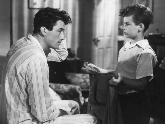 Gregory Peck & Dean Stockwell in Gentlemen's Agreement
