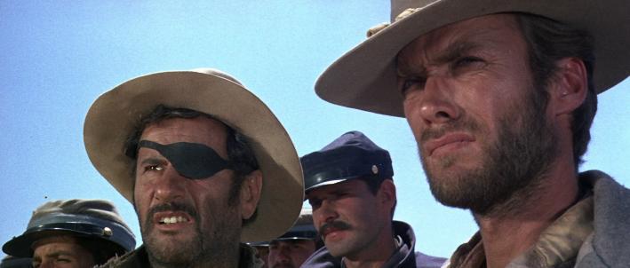 Il buono, il brutto, il cattivo (1966) Eli Wallach & Clint Eastwood