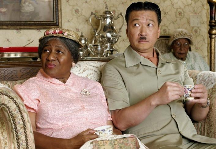 The Ladykillers (2004) - Irma P. Hall & Tzi Ma