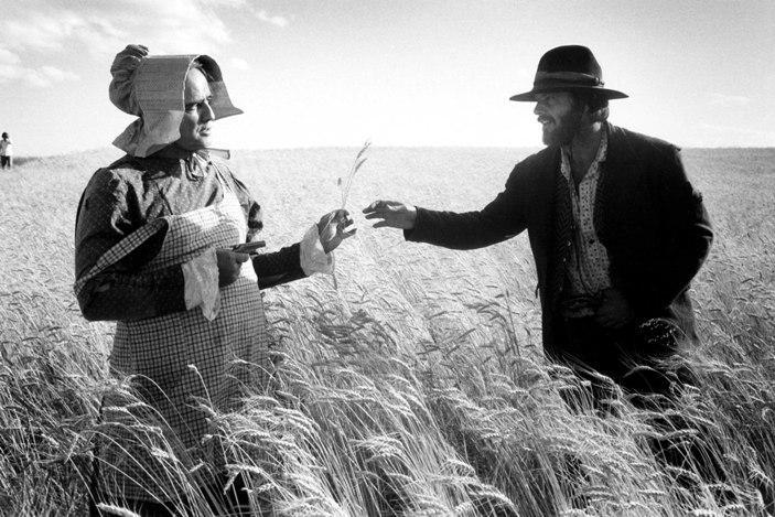 Marlon Brando e Jack Nicholson durante as filmagens de Duelo de Gigantes (The Missouri Breaks) - Missouri, EUA, 1975