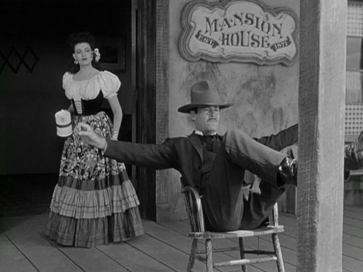 My Darling Clementine (1946)  Linda Darnell & Henry Fonda