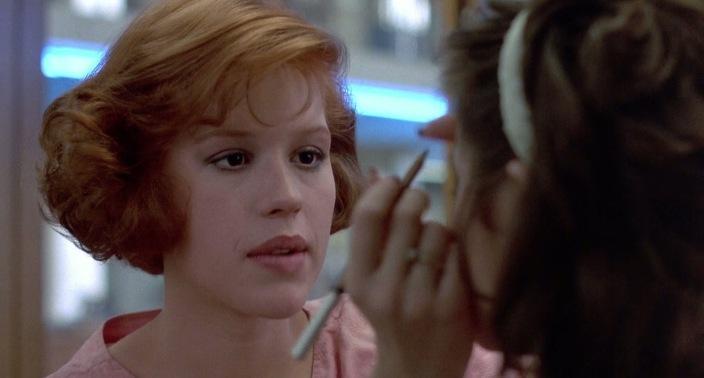 The Breakfast Club (1985) Molly Ringwald & Ally Sheedy