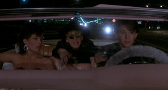 Weird Science - Kelly LeBrock, Anthony Michael Hall & Ilan Mitchell-Smith