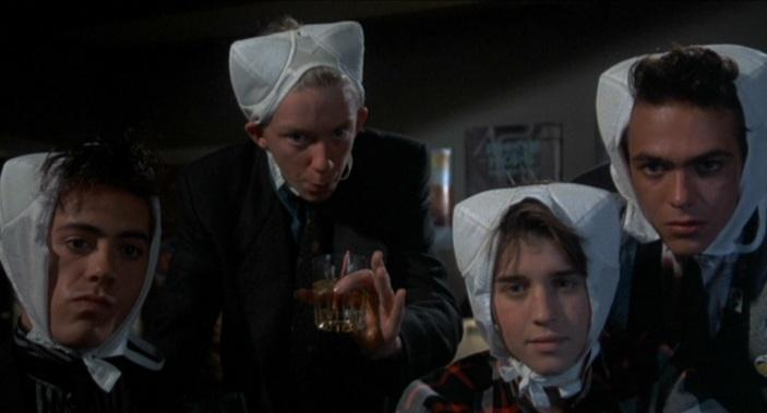 Weird Science - Robert Downey Jr, Anthony Michael Hall, Ilan Mitchell-Smith & Robert Rusler