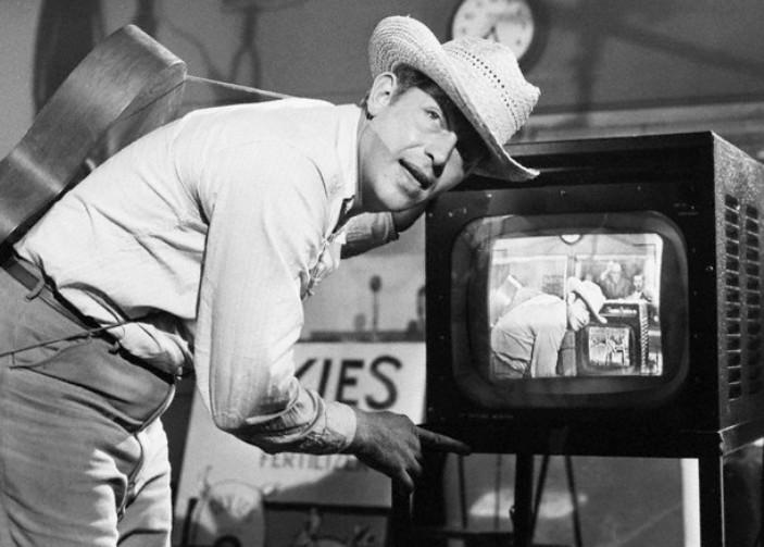 Andy Griffith in the Film A Face in the Crowd