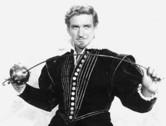 Rod Taylor em O Pirata Real (Il Dominatore dei Sette Mari, Rudolph Maté/Primo Zeglio, 1962)