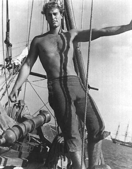 Sean Flynn em O Filho do Capitão Blood (Il figlio del capitano Blood, Tulio Demicheli, 1962)