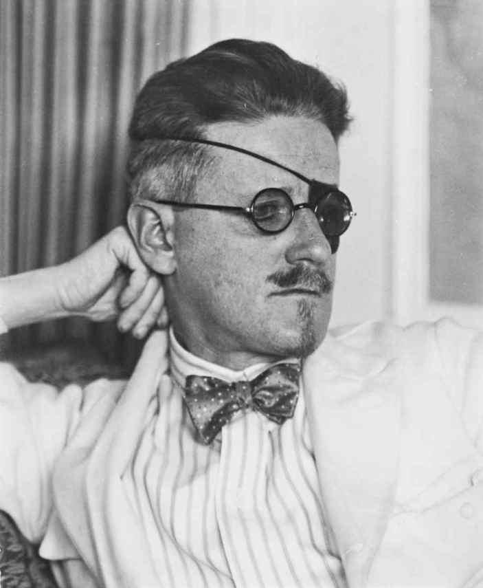 James Joyce by Berenice Abbott (1926)
