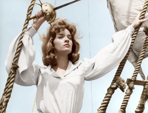 Lisa Gastoni em Le avventure di Mary Read (Umberto Lenzi, 1961)