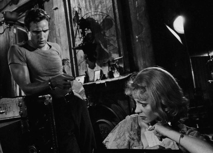 Marlon Brando & Vivien Leigh (A Streetcar Named Desire)