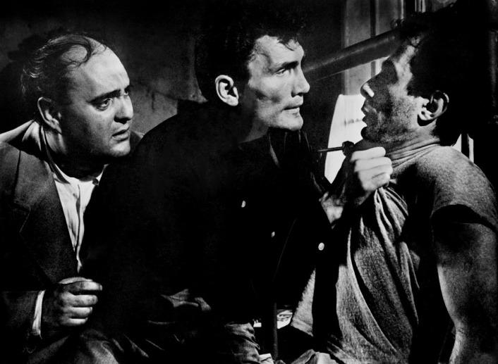 Panic in the Streets - Zero Mostel, Jack Palance & Guy Thomajan
