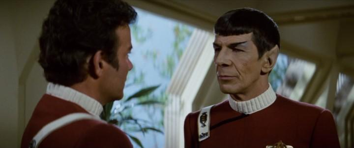 Star Trek The Wrath of Khan (1982) William Shatner & Leonard Nimoy