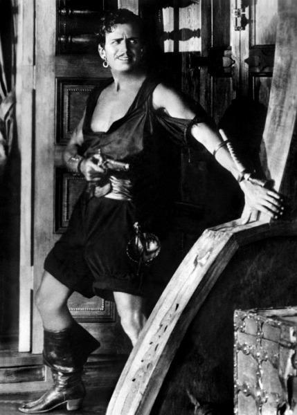 Douglas Fairbanks em O Pirata Negro (The Black Pirate, Albert Parker, 1926)