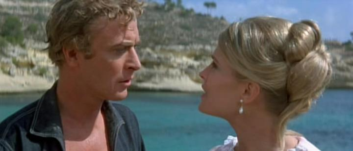 The Magus (1968) Michael Caine & Candice Bergen