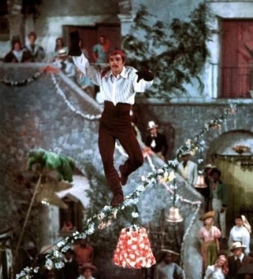 Gene Kelly em O Pirata (The Pirate, Vincente Minnelli, 1948)