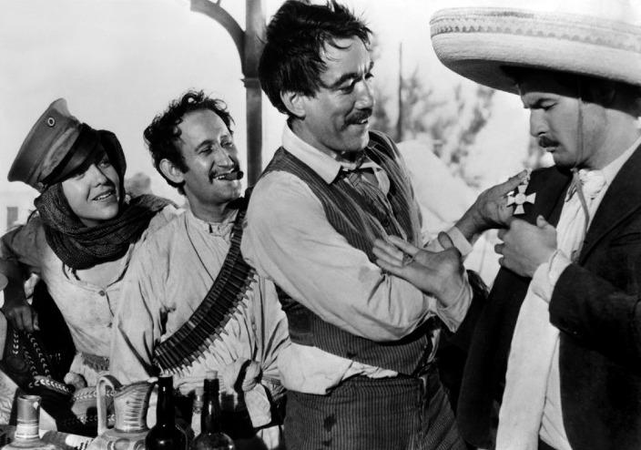 Viva Zapata - Lou Gilbert, Anthony Quinn & Marlon Brando