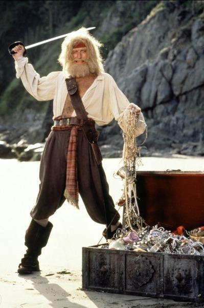 Graham Chapman em O Pirata da Barba Amarela (Yellowbeard, Mel Damski, 1983)
