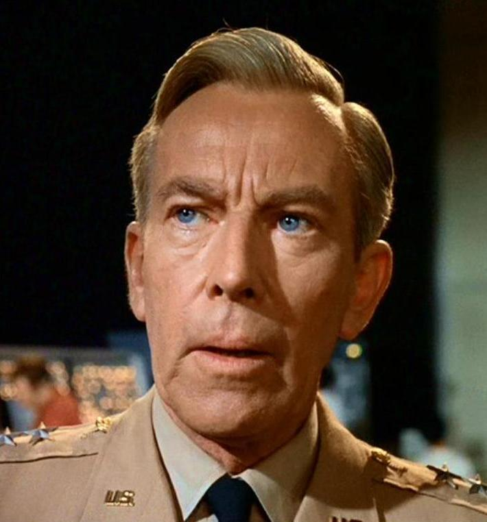 Whit Bissell as General Heywood 'Woody' Kirk in The Time Tunnel (1966)