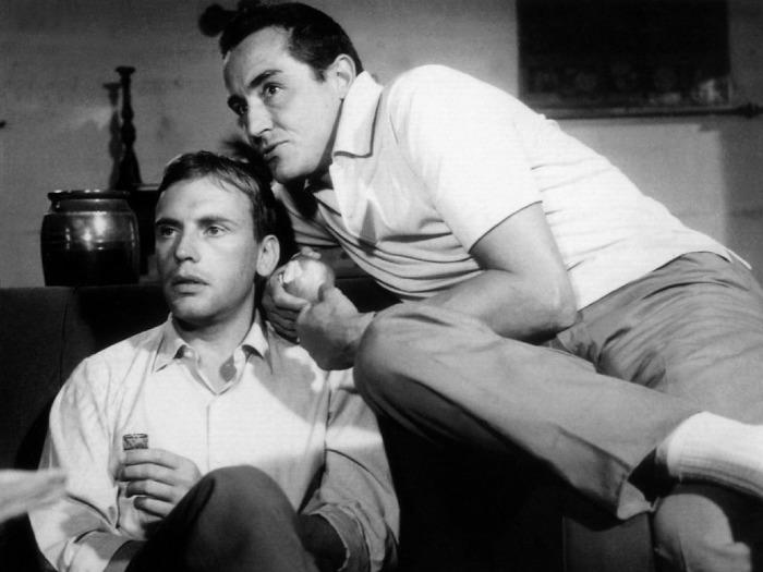 Il sorpasso  (1962) Jean-Louis Trintignant & Vittorio Gassman