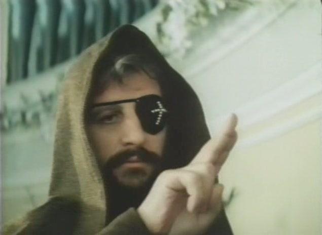 johnny depp ringo. usa tapa-olho: Ringo Starr