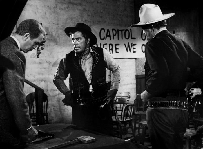 Liberty Valance - James Stewart, Lee Marvin, John Wayne