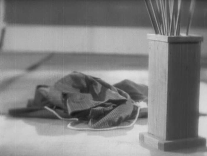 Tange Sazen yowa Hyakuman ryo no tsubo (1935) roupa