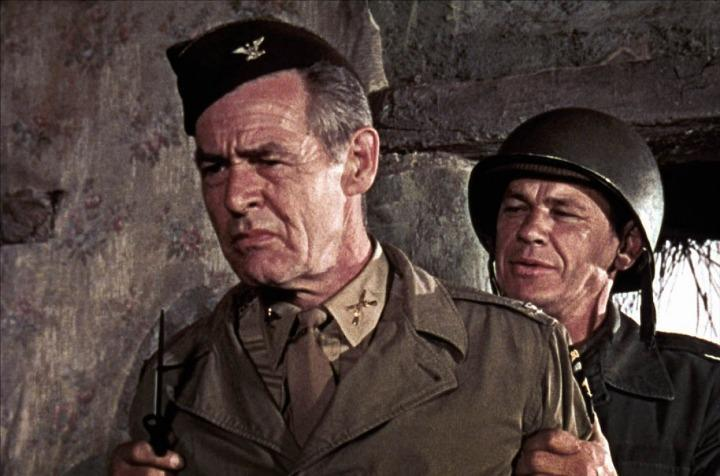 The Dirty Dozen - Robert Ryan & Charles Bronson