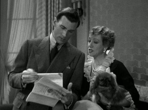 Walter Pidgeon & Marjorie Gateson