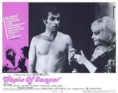 Znalezione obrazy dla zapytania Tropic of Cancer (1970)