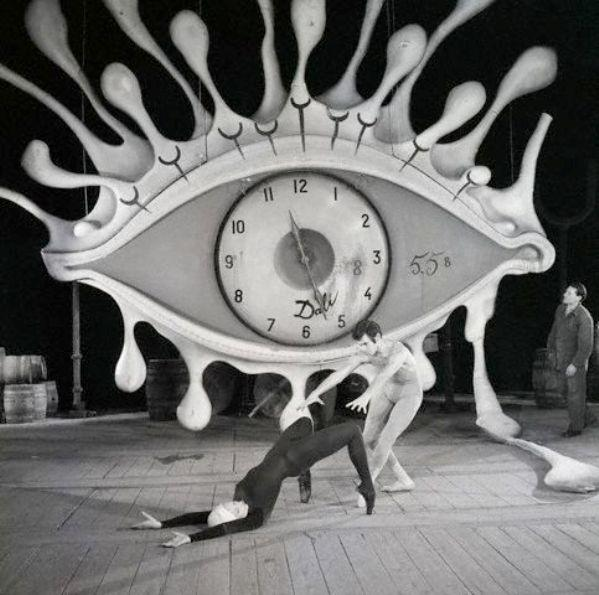 This Starring Eye By Dali Dominated One Of The Scenes In The