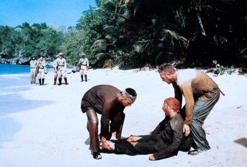 Dustin Hoffman, Steve McQueen, Robert Deman,Papillon