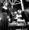 Ingrid Bergman & Alfred Hitchcock - Robert Capa