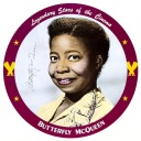 Butterfly McQueen Personality Poster
