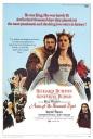 Richard Burton de Henry VIII em Ana dos Mil Dias (Anne of the Thousand Days, 1969) - com direito a figuração de Dame Taylor como puta da realeza