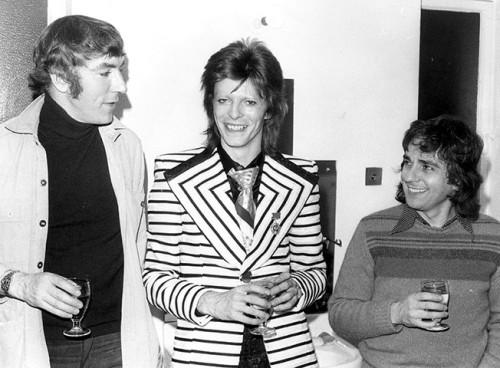 Peter Cook, David Bowie, DudleyMoore