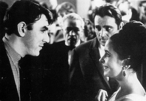 Peter Cook with Elizabeth Taylor and RichardBurton