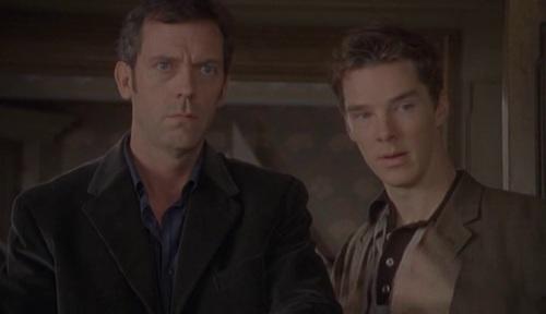 Cumberbatch & Laurie (5)