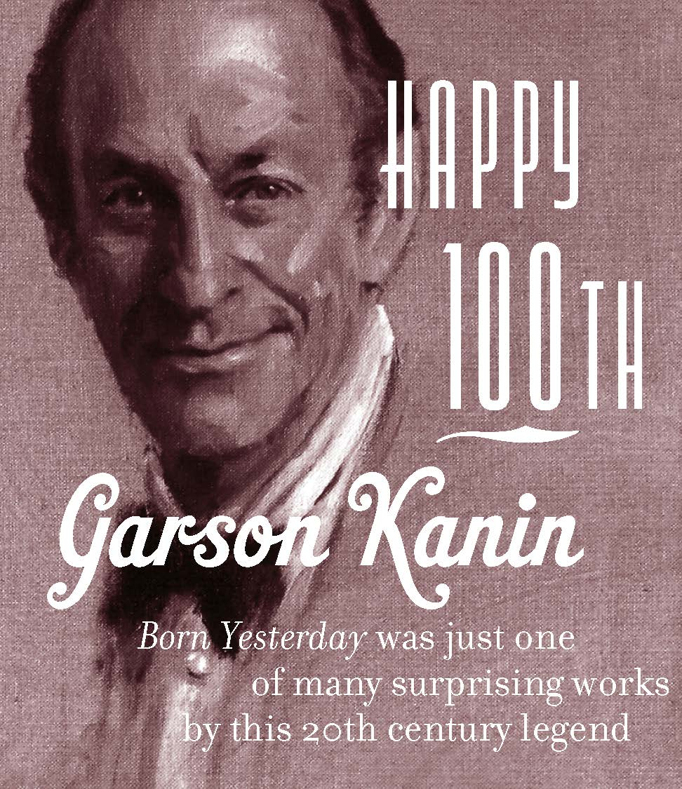 Happy 100th Garson Kanin