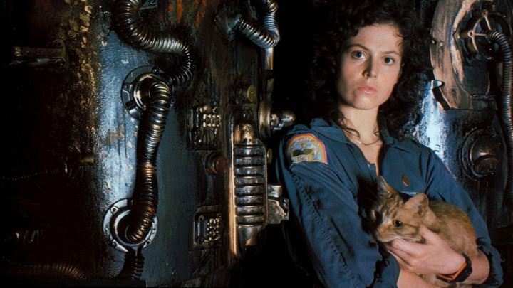 2- Série Alien (Ridley Scott, James Cameron, David Fincher, Jean Pierre Jeunet, 1979/1986/1992/1997)